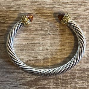 Very Rare David Yurman Cable Candle Cuff